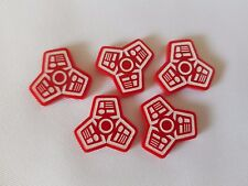 Star Wars Imperial Assault Boutique Championnat 2017 Terminal Tokens x5