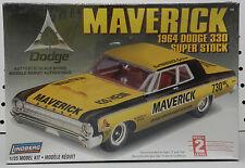 1964 64 DODGE 330 SEDAN STOCK SUPER BILL MAVERICK BOYS MOPAR LINDBERG MODEL KIT