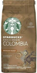 Starbucks Single-Origin Colombia Medium Roast Ground coffee 200g 100% Arabica