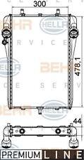 8MK 376 765-141 HELLA Radiador Refrigeración Del Motor Derecho