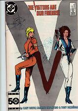 V the series #10 comic 1986      visitors       d