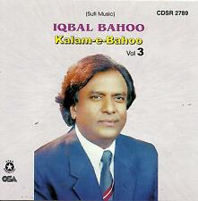 KALAM - E - BAHOO BY IQBAL BAHOO - VOL 3 - NEW SOUND TRACK CD