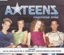A*TEENS (A-TEENS) - Mamma Mia (UK 4 Tk Enh CD Single Pt 1)