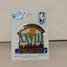 SUPER BOWL XXVIII Atlanta Hat Lapel Pin DALLAS COWBOYS  BUFFALO BILLS Jan 1994 3