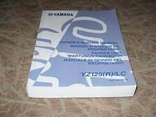 MANUEL REVUE TECHNIQUE D ATELIER YAMAHA YZ 125 (R) 2003