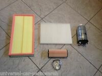 VW GOLF MK 4 1.9 TDI   98-04  OIL AIR FUEL AND CABIN POLLEN FILTER SERVICE KIT