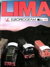 Catalogo LIMA Europrogram 1991 H0 - ITA ENG DEU FRA - Tr.4