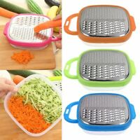 Cheese Food Vegetable Carrot Grater Slicer Shredder With Container Kitchen-AU