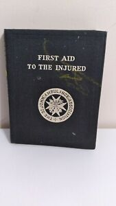 First Aid To The Injured- Rare 1937-39th Edition