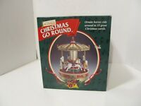 1999 Mr Christmas Christmas Go Round NEW RARE fast ship