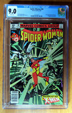 Spider-Woman #38 ~ CGC 9.0 ~ X-Men App ~ Marvel Comics 1981 ~ Juggernaut ~ Siryn