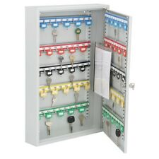 100 Hook Key Box Cabinet Holder Safe Secure Storage Valet Wall Mount Lock NEW