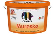 Caparol Muresko 2,5l Fassadenfarbe weiß Fassadenbeschichtung Außenfarbe
