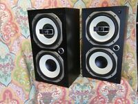 Kenwood LS-770  Speakers  2 Way coaxial with Passive radiator
