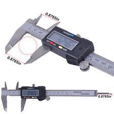 "6"" Inch/150mm Stainless Steel Electronic LCD Digital Vernier Caliper Micrometer"