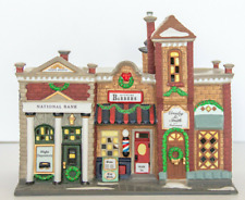 Dept 56 Christmas In The City - Riverside Row Shops 58888 Rare Retired Brand New