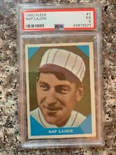 1960 FLEER #1 NAP LAJOIE *PSA GRADED EX 5 *SHARP* *KGC-13644