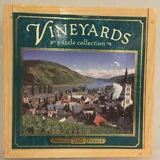 Vineyards Rhein, Germany 750-Piece Premium Puzzle with Wooden Box