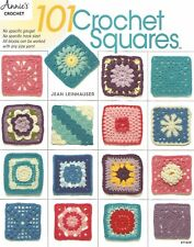 101 Crochet Squares Jean Leinhauser Instruction Pattern Book Annie's 2017 NEW