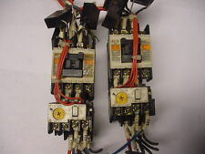 2 Fuji Electric SC-0 SC-O Contactor 4NC0F0 w/ TR0N/3 Overload Free Shipping!
