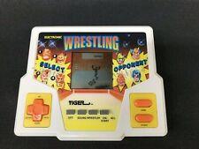 Electronic Wrestling - Vintage 1987 Tiger Electronics Handheld Tested Works
