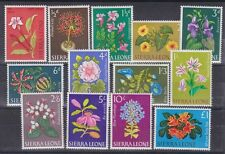 1963 Sc 227/39,set MNH flowers        D43