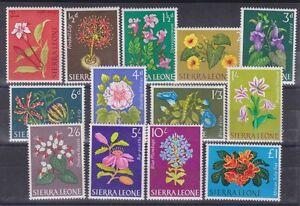 1963 Sc 227/39,set MNH flowers        D43