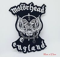 Motorhead England Band Rock Metal Iron/Sew on Embroidered Patch #1167