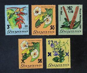 CKStamps: Guyana Stamps Collection Scott#331-335 Mint NH OG