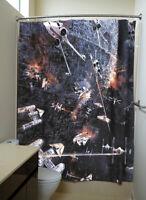 Star Wars 71 x 71 in Shower Curtain Fight Scene Poster