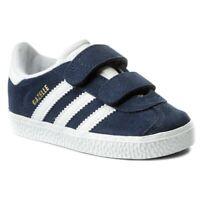 Chaussures adidas Originals CQ3138 Gazelle Velcro Bleu Mode Junior Enfants Vie