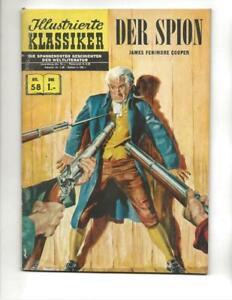 Illustrierte Klassiker #58 1960's German Classics  Illustrated The Spy!