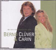 Bernd Cluver &Carin-So Wie Ich Eigentlich Bin cd maxi single