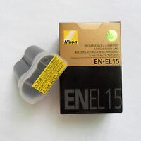 EN-EL15 Battery For Nikon  D7000 D7100 D7200 D800 D800E D810 D750 V1 D600 Camera