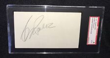 SYDNEY POLLOCK SIGNED 3X5 INDEX CARD SGC AUTHENTICATED TOOTSIE