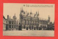 Belgique - BRUGES - La Justice de Paix, l'Hôtel de Ville et la basilique (J4459)