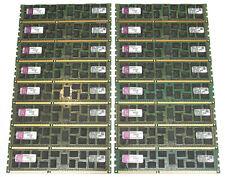 Lot Of 16 x 4Gb = 64Gb Server Ddr3 Ram Memory Module Ecc 1333 Mhz Pc3-10600R