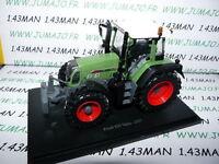 TR72W Tracteur 1/43 universal Hobbies n° 83 : FENDT 820 vario 2007