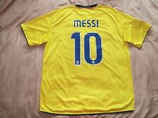 MINT RARE Barcelona #10 MESSI XL shirt AWAY camiseta 2008 2009 nike 08
