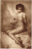 1920s Vintage Swedish Female Nude Model Flodin Art Deco Photo Gravure Print