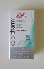 Wella Color Charm T28 Natural Blonde Permanent Liquid Hair Toner Colour