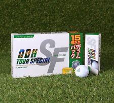 Dunlop Ddh Soft Feeling Iii 1 Dozon (15 ball) golf ball White Color
