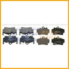 Front and Rear Disc Brake Pad Set Textar KIT Fits: Porsche Boxster Cayman