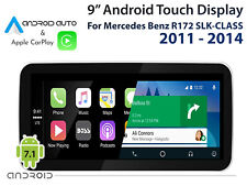 """Mercedes Benz R172 SLK-CLASS 2011 - 2014_ 9"""" Touch Display CarPlay Android Auto"""