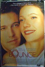 "Bounce - 27""x40"" 2 Sided ORIGINAL Movie Poster -Ben Afleck, Gwyneth Paltrow"