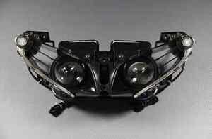 Phare Feu Optique avant / Headlight pour Yamaha YZF R1 Crossplane 2012-2014