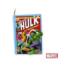 2010 HALLMARK Ornament Comic Book Heroes #3 - The Incredible Hulk #QX8453
