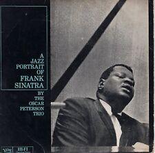 7inch OSCAR PETERSON TRIO a jazz portrait of Frank Sinatra HOLLAND EP EX