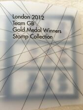 2012 Olympic/Paralympic Gold medal winners miniature  sheet complete collection