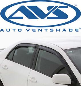 AVS 194550 In-Channel Window Deflector Ventvisor 4-Piece 2006-2012 Ford Fusion